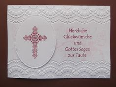 "Stampin up Stamp "" Crosses of Hope """