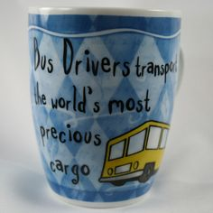 OCCUPATION MUG - BUS DRIVER