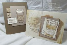 Stampin' Up! stamp sets, Perfect Blend, gorgeous grunge