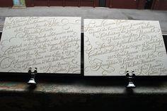 Wedding Press Typography