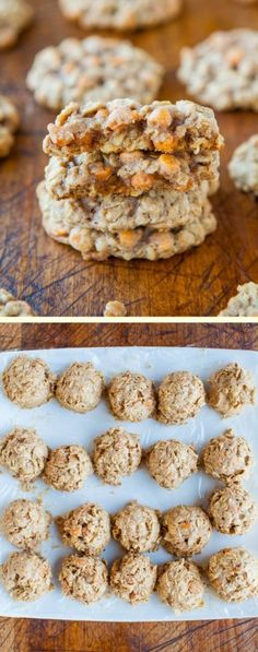 Soft and Chewy Oatmeal Scotchies Cookies final