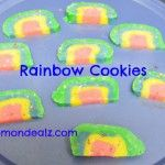 Kids Frugal Fun:  Recipes For St. Patrick's Day-Rainbow Cookies!