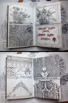 cool-book-draw-sketchbook-flowers