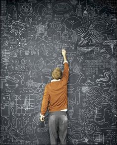 if i put a blackboard up in the kitchen will everyone be inspired to draw on it?
