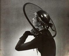 Hat by Maud et Nano, photo by Georges Saad, 1951