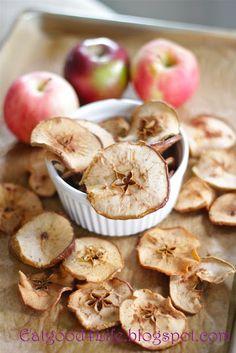 Eat Good 4 Life » Organic Apple chips