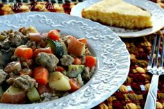 Quick & Easy Skillet Ground Beef Stew