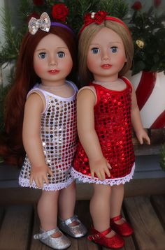 Get Your Trendy American Girl Holiday Dresses at the Most Trendy 18 inch Doll Website Ever. Visit www.harmonyclubdolls.com This holdiay season of 2013, Outfit Your Trendy American Girl Doll at www.harmonyclubdolls.com
