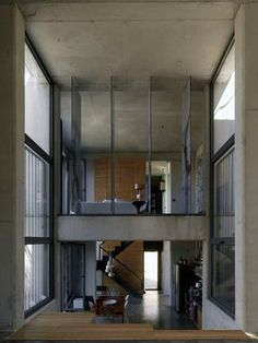 Concrete Living Space - Just The Design