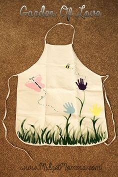 Garden of Love Personalized DIY Apron