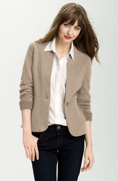 Caslon® Double Knit Blazer POV $38.90