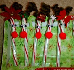 Candy Cane Reindeer!!