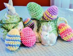 Easter Egg - Free Crochet Pattern