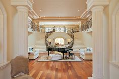 double staircase!