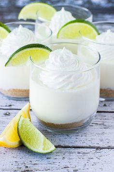 Lime Cheesecake parfait