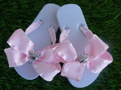 Princess/Flower Girl Flip Flop YOU choose by 1YOUniqueboutique, $19.99   http://www.etsy.com/listing/110296836/princessflower-girl-flip-flop-you-choose?