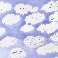 Wax resistant cloud painting