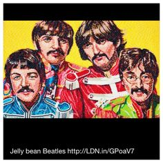 Jelly bean Beatles