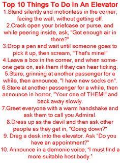 Elevator fun ;)