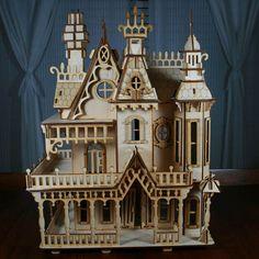 Cool Victorian dollhouse.