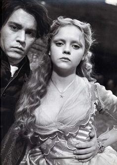 Johnny Depp and Christina Ricci.