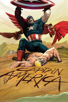 CAPTAIN AMERICA #14 - Cover by Carlos Pacheco