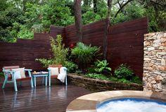 contemporary patio by B. Jane Gardens