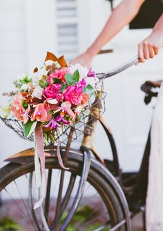 bicycle florals #gwsxmodcloth