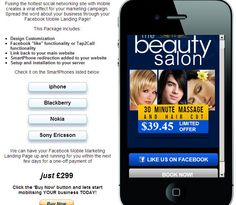Salon Example http://dwmc.mobi/socialmobile/beauty/index.html