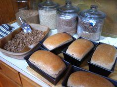 oven, jar, bread