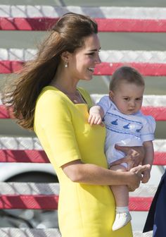 Kate Middleton and Prince George — so sweet!
