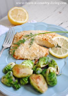 Broiled Tilapia Parm