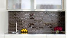 Handmade backsplash tile by Heath Ceramics. (Cultivate.com)