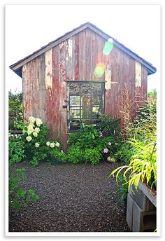 Recycled Garden Sheds made from reclaimed building materials