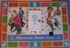 Dateing game, board game
