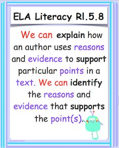 """Display these colorful CC ELA information text posters as you teach and review nonfiction text. Common Core vocabulary has been bolded and the words """"We can"""" in red font adds a personal, positive touch. Laminate for future use. price item."""