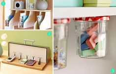 Roundup of 15 super clever DIY office storage and organization ideas