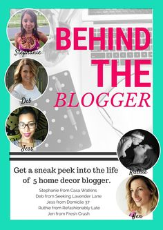 Behind the blogger s