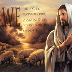 Mormons(members of The Church of Jesus Christ of Latter-Day Saints) are Christians. This is a scriptural quote from The Book of Mormon--which is a second witness for Jesus Christ.
