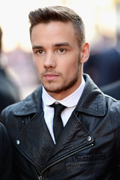 One Direction's Liam Payne Plays Hero, Rescues Friend from Fire men hair, eye colors, masculine style, harry styles, one direction, motorcycle jackets, leather jackets, liam payne, eyes
