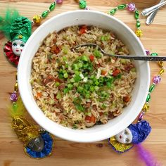 Cajun Dirty Rice Bowls - these are soooo easy  to make and make a great lunch too!