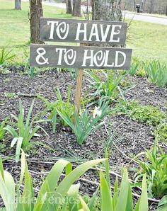 rustic weddings signs | Hold Wedding Sign, Rustic Wedding Signs, Country Cowgirl Wedding Signs ...