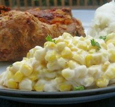 "Cream Cheese Corn: ""This fits right in as the weather changes into fall and I find myself going toward comfort foods!""  -lazyme"