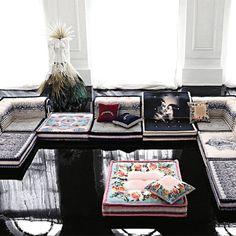 Jean-Paul Gaultier's Mah Jong sofa