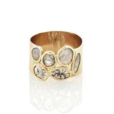 Caillou Diamond Slice Ring | Vale Jewelry