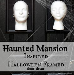 Haunted Mansion Inspired Halloween Frames