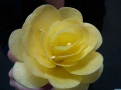 Another style of wafer paper rose