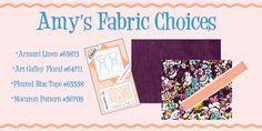 Macaron Sew-A-Long! Part 1-Choosing Fabric! hartsfabric.com