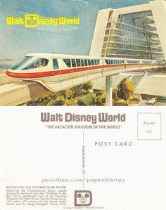 vintage disney postcards