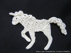 horse unicorn applique with FREE diagram there is a lot of free patterns on this web site